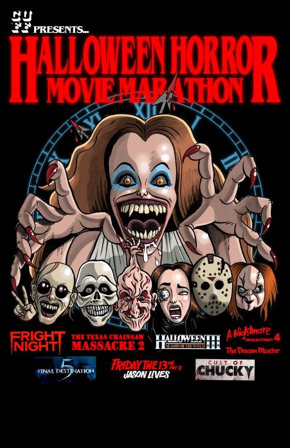 Halloween Movie Marathon - Calgary Underground Film Festival