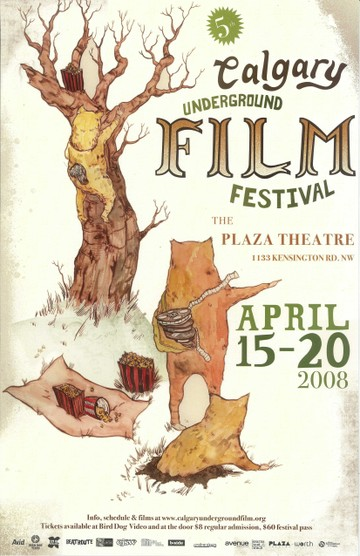 CUFF Poster from 2008 by Marigold Santos