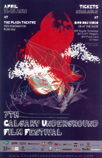 CUFF Poster from 2010 by Kiarra Albina