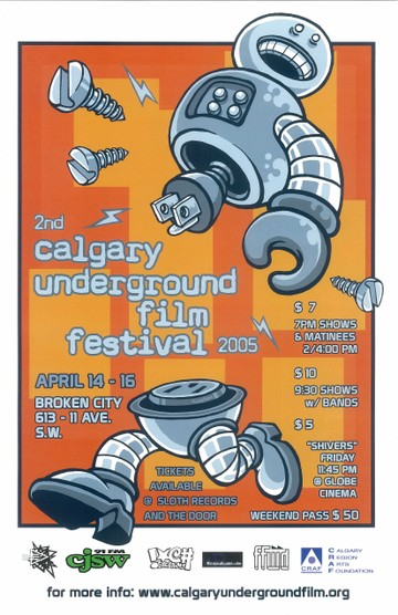 CUFF Poster from 2005 by Tim Huesken
